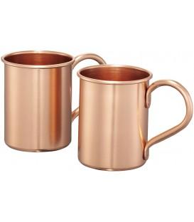 Mug cuivre (set cadeau de 2 mugs)