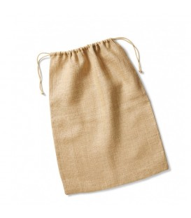 sac-Pochette jute 14x20