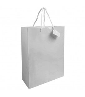 Sac 3 bouteilles papier Luxe stock