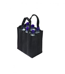 Sac 6 bouteilles NOIR