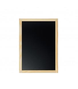 ARDOISE avec cadre bois Format 40x60 cm logo 1 coul inclus