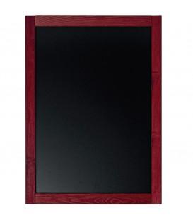 ARDOISE avec cadre bois Format 60x80 cm logo 1 coul inclus