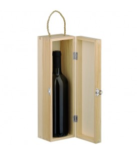 Coffret bois 1 bouteille