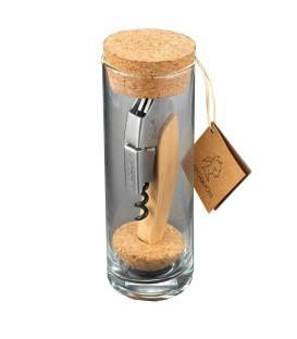 L'IROQUOIS BOIS packaging verre avec marquage 1 couleur inclus